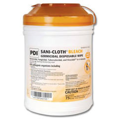 MON57844106 - PDISani-Cloth® AF3 Germicidal Disposable Wipes, XLG, 65 per Canister