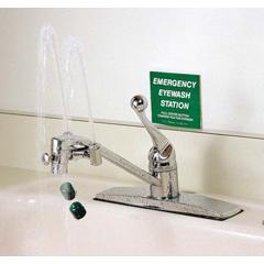 MON58172700 - Moore MedicalEye Wash Faucet Station Faucet Mount Continuous Flow