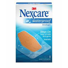 MON58182000 - 3MNexcare™ Waterproof Bandages (581-08)