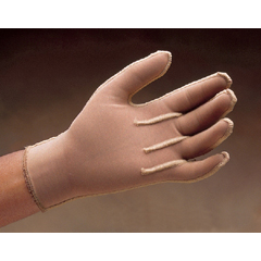 MON58301300 - JobstCompression Glove MedicalWear Pre-Sized Full Finger Medium Long Over-the-Wrist Ambidextrous Fabric