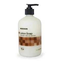 MON58571801 - McKessonSoap Lotion 18 oz. Pump Bottle Fresh Scent