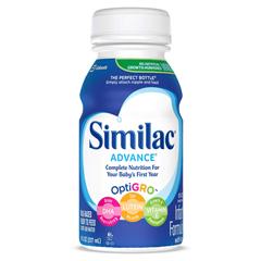 MON58662601 - Abbott NutritionInfant Formula Similac® Advance® On-The-Go 8 oz. Bottle Ready to Use