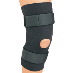 MON58913000 - DJOHinged Knee Support PROCARE Medium Hook and Loop Closure