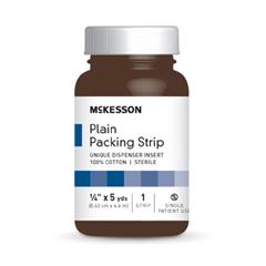 MON59122000 - McKessonWound Packing Cotton 1/4 X 5 Yards