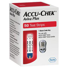 MON59492400 - RocheStrip Test Glucose Accu-Chek Aviva
