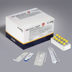MON59532400 - BDRapid Diagnostic Test Kit BD Veritor System Influenza A + B Nasal Swab / Nasopharyngeal Swab Sample CLIA Waived 30 Devices