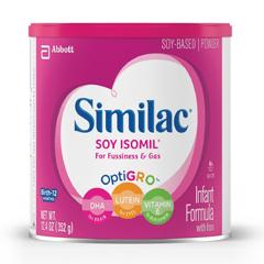 MON59632600 - Abbott NutritionSimilac® Soy Isomil® Infant Formula