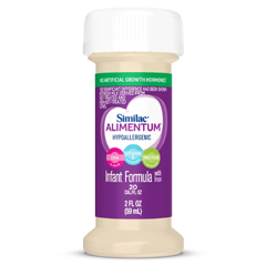 MON59732600 - Abbott NutritionInfant Formula Similac® Expert Care® Alimentum® 2 oz. Bottle Ready to Use