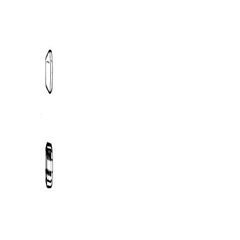 MON60062500 - ADC - Ear Tips, Stethoscope Black, Mushroom All Standard Stethoscopes