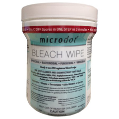 MON807445CN - Cambridge Sensors USA - microdot® Surface Disinfectant Wipe 160 Count Canister