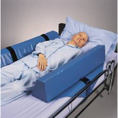 MON60123000 - Skil-CareRoll-Control Bed Bolster 8 X 7 X 34 Inch Foam Straps