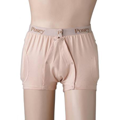 MON60173000 - Posey - Hipsters® & Hip Protection Briefs, Beige, Small
