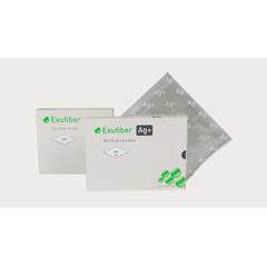 MON60212101 - Molnlycke Healthcare - Gelling Fiber Dressing with Silver Exufiber Ag+ 2 X 2 Inch Square Sterile, 1/ EA