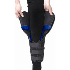 MON60213000 - Ossur - 3-Panel Knee Immobilizer Universal Hook and Loop 16 Inch Left or Right Knee