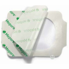 MON60272100 - Molnlycke HealthcareTransparent Dressing Mepore® Film Elastic Polyurethane Film 2.4 X 2.6 Inch, 100EA/BX