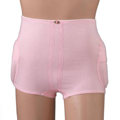 MON60303000 - PoseyHip Protection Brief Community Hipsters® Standard Brief Small Pink Female