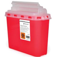 MON60492800 - McKessonSharps Container Prevent® 5.4 Quart Horizontal Entry Lid