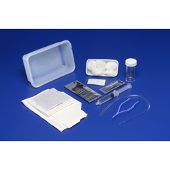 MON60571920 - MedtronicDover Intermittent Catheter Tray Open System/Urethral 14 Fr. w/o Balloon Red Rubber