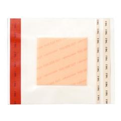 MON60602101 - Ferris Mfg - Adhesive Film Dressing PolyMem® Hydrophilic Polyurethane Foam 6 X 6 Inch