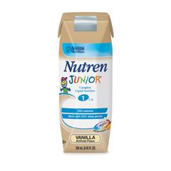 MON60622600 - Nestle Healthcare NutritionNutren Junior 1.0 Vanilla 250ml/8 Ounce Can