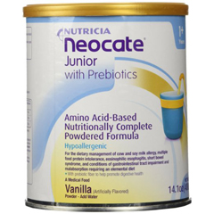MON60672600 - NutriciaPediatric Oral Supplement Neocate® Junior with Prebiotics 100 Calories Vanilla 14 oz., 4EA/CS