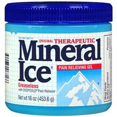 MON60702700 - NovartisPain Relief Mineral Ice 2% Strength Gel 16 oz.