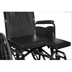 MON60914300 - Bluechip MedicalAmputee Cushion, Bilateral 18 X 16 X 2 Inch Med-Flex VPF Foam