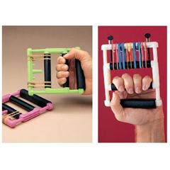 MON61017700 - Sammons PrestonHand Exerciser Hand Helper® II Bright Pink