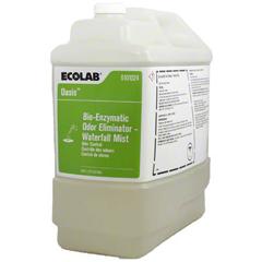 MON1110673EA - Ecolab - Deodorizer Oasis Bio-Enzymatic Liquid 2.5 gal. Jug Scented,