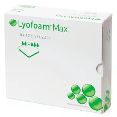MON61322101 - Molnlycke HealthcareFoam Dressing Lyofoam® Max 4 X 4 Inch Square