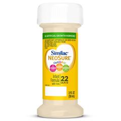 MON61772601 - Abbott NutritionInfant Formula Similac® Expert Care® NeoSure® 2 oz. Bottle Ready to Use