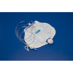 MON62081900 - MedtronicCurity Urinary Drain Bag Mono-Flo Anti-Reflux Valve 2000 mL Vinyl