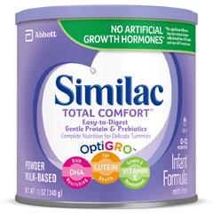 MON62592601 - Abbott NutritionSimilac® Total Comfort™ Infant Formula