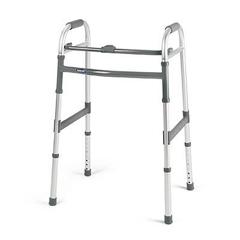 MON62813800 - InvacareNon-Folding Walker, Adjustable Height Invacare® Aluminum 300 lbs.
