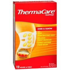 MON63362700 - PfizerHeat Wrap ThermaCare Chemical Activation Knee / Elbow