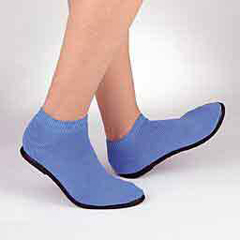 MON63471200 - PBESlippers Pillow Paws Azure Ankle High