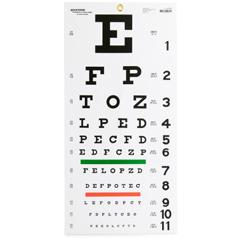 MON1038457BG - McKesson - Eye Test Chart (63-3050), 5/BG