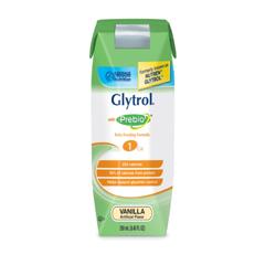 MON63752600 - Nestle Healthcare NutritionOral Supplement / Tube Feeding GLYTROL® Vanilla 250 mL, 24EA/CS