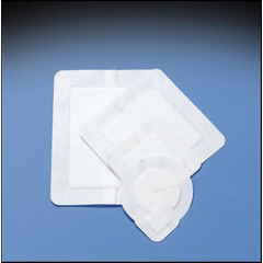 MON64012000 - DeRoyalDressing Covaderm Plus Sterile Adhesive 2.5in x 2.5in Pad 4in x 4in Overall