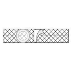 MON64024900 - Nu-Hope LabsPeristomal Hernia Belt Nu-Form® Large 3 Inch