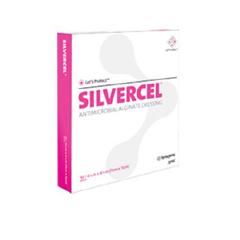 MON64192150 - Systagenix - Silver Dressing Silvercel 4 x 8 Rectangle (800408)