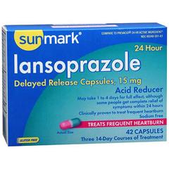 MON64532700 - Perrigo NutritionalsLansoprazole Dr Cap 15Mg 42 per Bottle