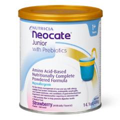 MON64562601 - NutriciaPediatric Oral Supplement Neocate® Junior with Prebiotics Strawberry 14.1 oz.