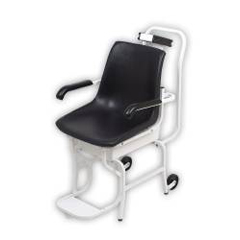 MON64753700 - Detecto ScaleChair Scale Digital 400 X 0.2 lbs. White with Black Chair Batteries