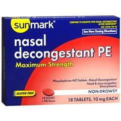 MON64762700 - McKessonAllergy Relief sunmark® 10 mg, 18 per Bottle
