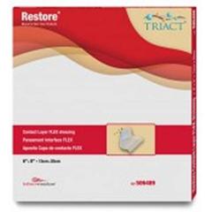 MON64882101 - Hollister - Non-Adherent Dressing Restore Contact Layer Flex 4 X 5 Inch