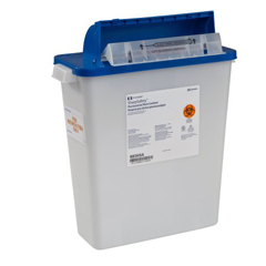 MON64922800 - MedtronicSharpSafety™ Pharmaceutical Waste Container, Counterbalance Lid, 3 Gallon