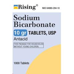 MON64982700 - Rising PharmaceuticalsAntacid 650 mg Strength Tablet 1000 per Bottle, 1000/BT