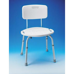 MON65103500 - Apex-CarexAdjustable Bath & Shower Seat with Back