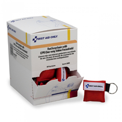 MON65173900 - First Aid OnlyShield Cpr Micro-Key Red 30EA/BX